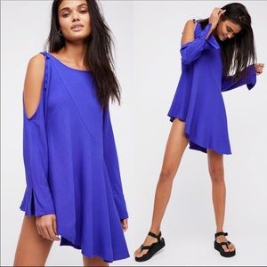NWT Free People Clear Skies Tunic in Violet